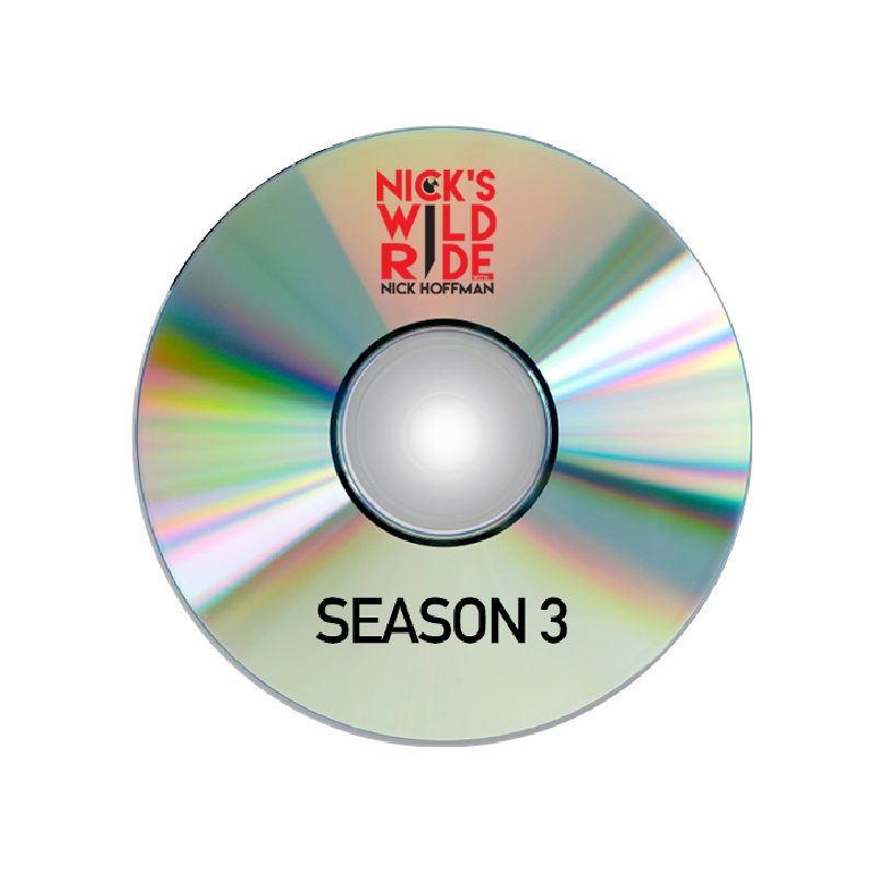 Nick's Wild Ride Season 3 (2018) DVD