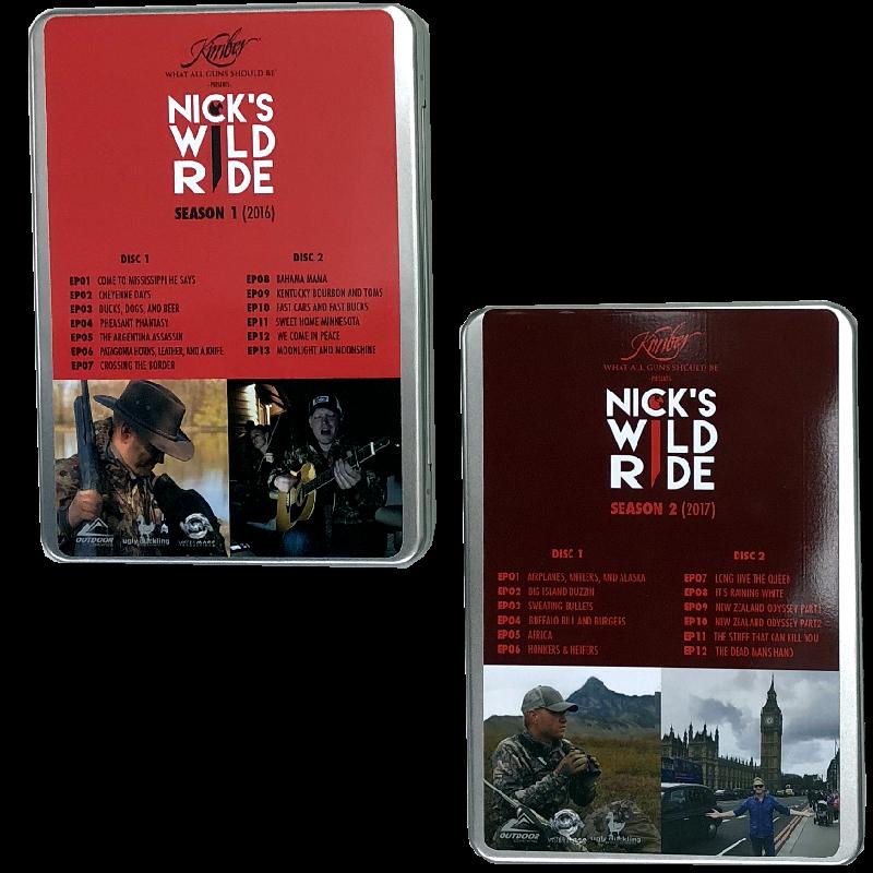 Nick's Wild Ride DVD Set
