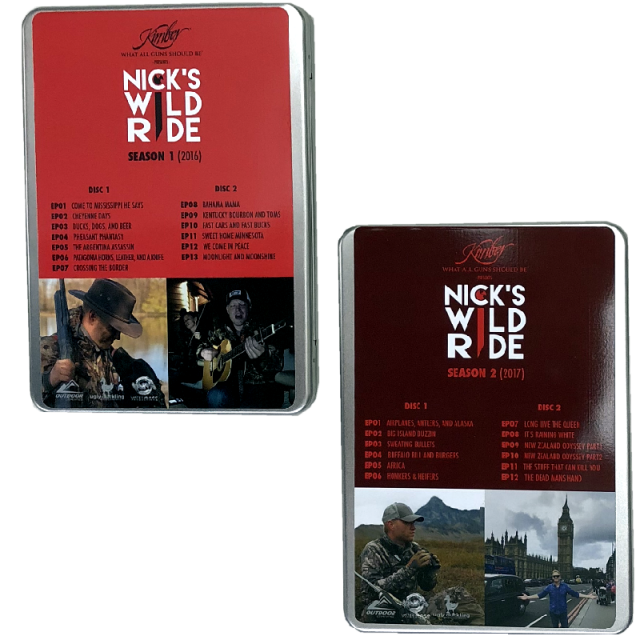 Nick's Wild Ride DVD Set